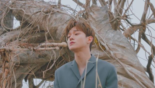 Chen (EXO) ngồi một mình giữa dàn vũ công trên đảo hoang thể hiện bản tình ca ngọt ngào trong MV debut  - Ảnh 1.