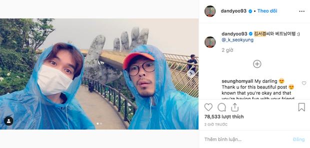 Tiểu So Ji Sub Yoo Seung Ho khoe ảnh vi vu Đà Nẵng lên Instagram, thích thú trải nghiệm đi xích lô và thuyền - Ảnh 1.