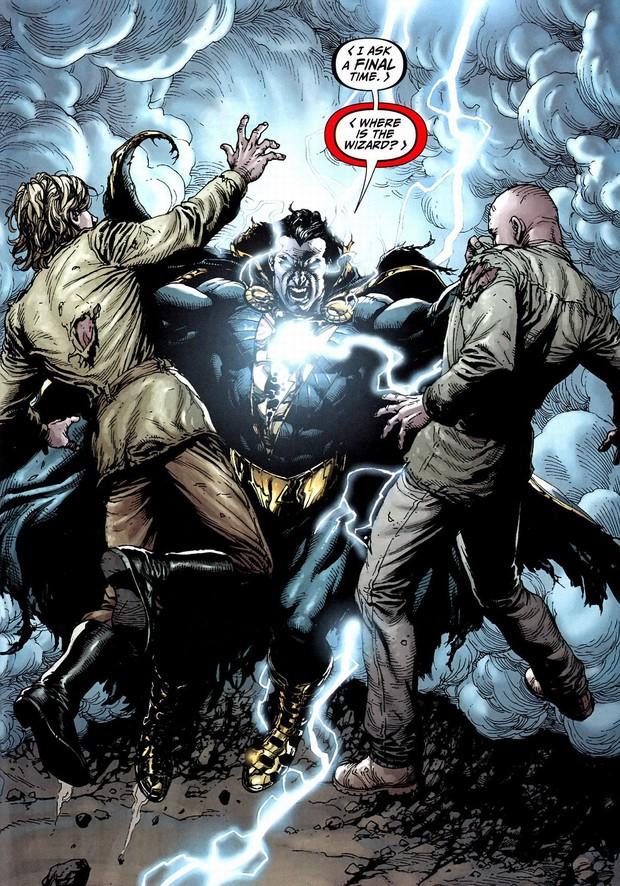 Thánh nhây Shazam và Sivana từ truyện tranh lên màn ảnh rộng khác một trời một vực - Ảnh 6.