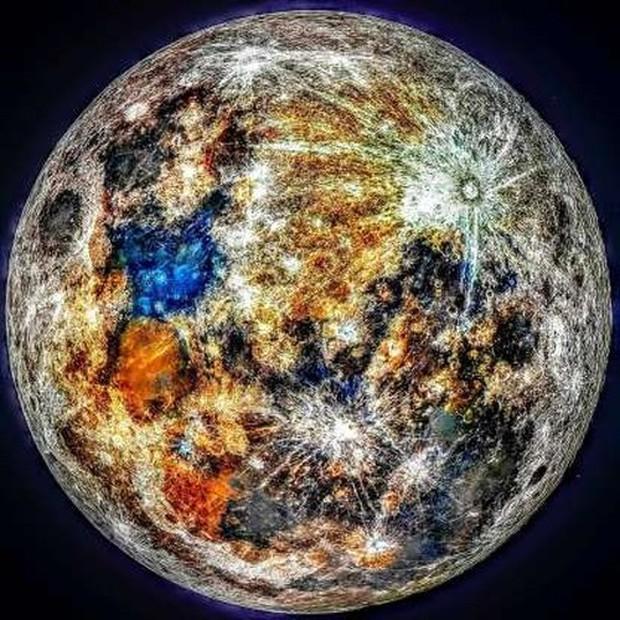 Những bức ảnh thú vị về Mặt trăng ở hình dáng và kích thước khác nhau - Ảnh 3.