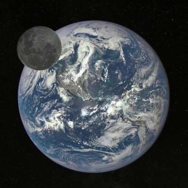 Những bức ảnh thú vị về Mặt trăng ở hình dáng và kích thước khác nhau - Ảnh 4.
