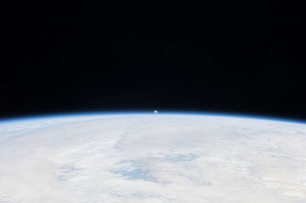 Những bức ảnh thú vị về Mặt trăng ở hình dáng và kích thước khác nhau - Ảnh 7.