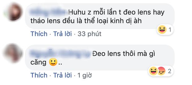Netizen phản ứng cực tỉnh với tấm poster Thiên Linh Cái: Đeo lens thì tự gỡ đi chứ! - Ảnh 5.