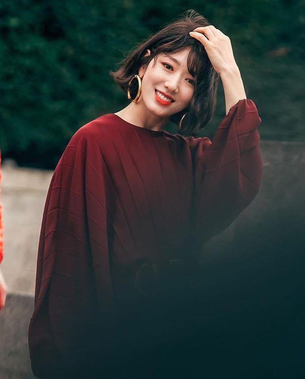 Có ai như Park Shin Hye: Để tóc dài nữ thần thì nhàn nhạt, đổi tóc ngắn mới đạt đến đỉnh cao nhan sắc - Ảnh 5.