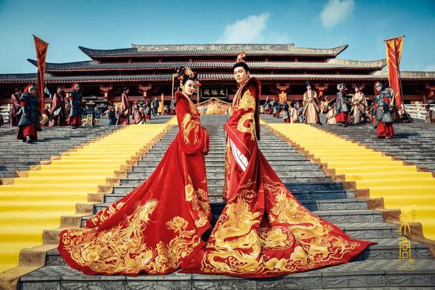 Đông Cung: Cảnh đại hôn hoành tráng đến mấy cũng thua nhan sắc không tì vết của Bành Tiểu Nhiễm! - Ảnh 1.