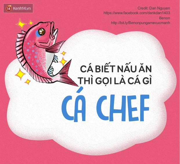 Dân mạng Việt hóa đại dương với pun game cực mạnh về các loài cá - Ảnh 1.