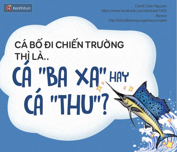 Dân mạng Việt hóa đại dương với pun game cực mạnh về các loài cá - Ảnh 10.