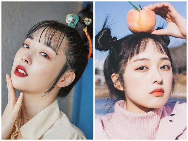 Vừa chụp ảnh làm lố vài kiểu, nữ diễn viên SKY Castle đã bị netizen gán mác hậu duệ Sulli - Ảnh 1.