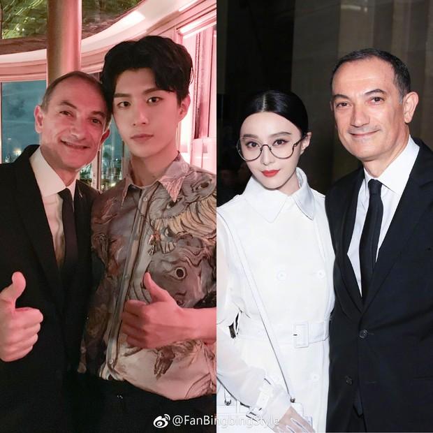"""Ngày """"em hơn chị"""" đã đến: Em trai Phạm Băng Băng cao vượt mặt đàn chị, điển trai ngời ngời tại show Givenchy - Ảnh 7."""