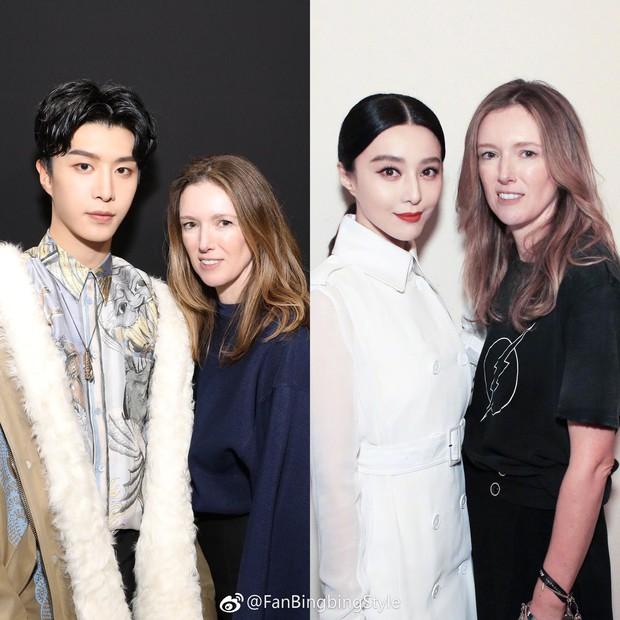 """Ngày """"em hơn chị"""" đã đến: Em trai Phạm Băng Băng cao vượt mặt đàn chị, điển trai ngời ngời tại show Givenchy - Ảnh 6."""