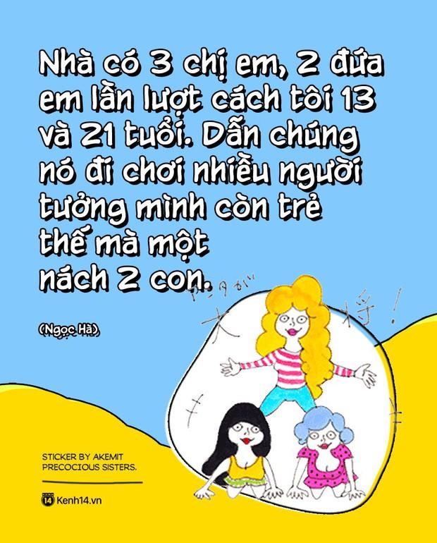 Nhà toàn chị em gái: Đúng là thương nhau lắm rồi lại cắn nhau đau, chí choé thôi cũng hết ngày - Ảnh 9.