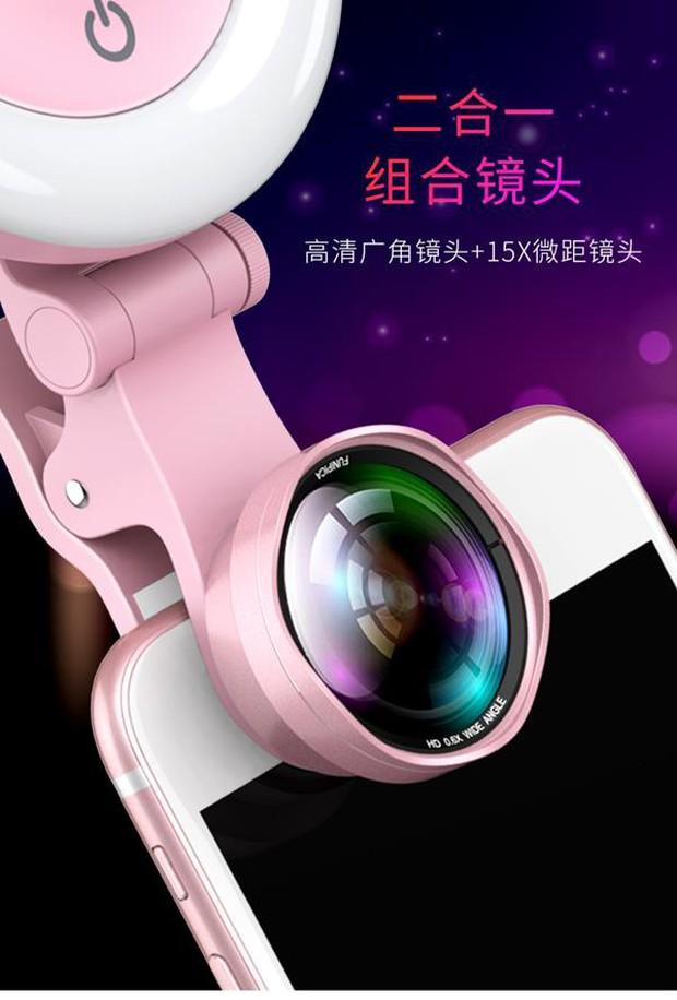 Gương selfie cảm ứng kiêm ống kính góc rộng: Chạm nhẹ là có mặt V-line, da trắng thêm vài tông - Ảnh 2.