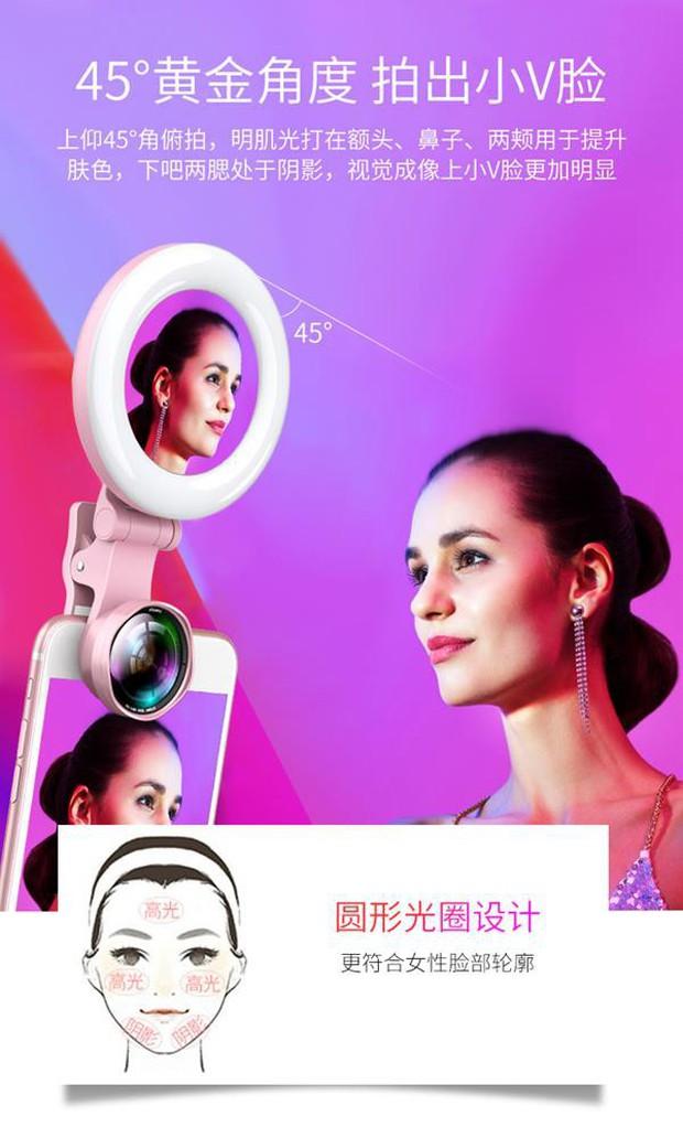 Gương selfie cảm ứng kiêm ống kính góc rộng: Chạm nhẹ là có mặt V-line, da trắng thêm vài tông - Ảnh 5.