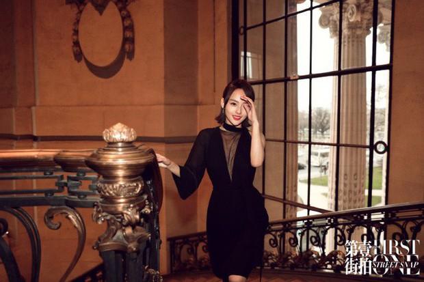 Không hổ danh là mỹ nhân đẹp nhất Diên Hi, Trương Gia Nghê hút mọi ánh nhìn tại Tuần lễ thời trang Paris - Ảnh 6.