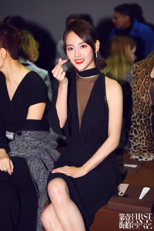 Không hổ danh là mỹ nhân đẹp nhất Diên Hi, Trương Gia Nghê hút mọi ánh nhìn tại Tuần lễ thời trang Paris - Ảnh 8.