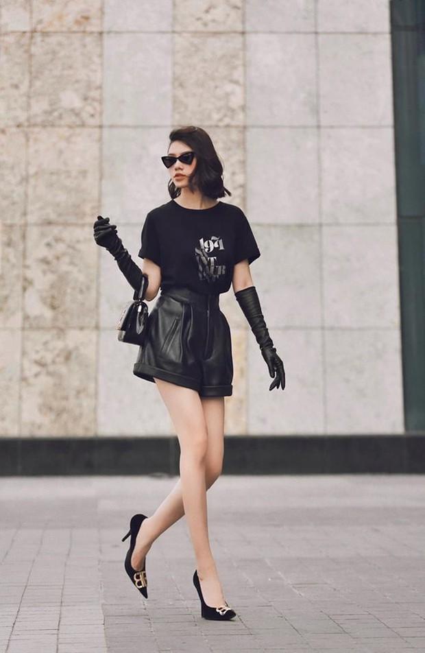 Hà Hồ phô trương ngực trần, Quỳnh Anh Shyn phải mượn áo để chinh chiến street style với dàn sao quốc tế tại Paris - Ảnh 9.