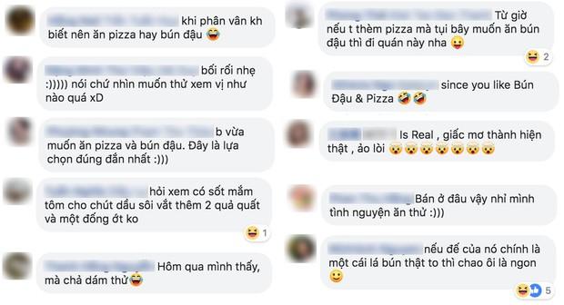 Pizza bún đậu mắm tôm: sự kết hợp khiến cộng đồng mạng nghe thôi đã muốn chao đảo - Ảnh 4.