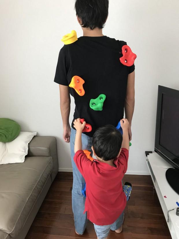 Áo phông kỳ diệu của kỹ sư Google: Hễ con chơi tàu hỏa là bố được mát-xa lưng - Ảnh 8.