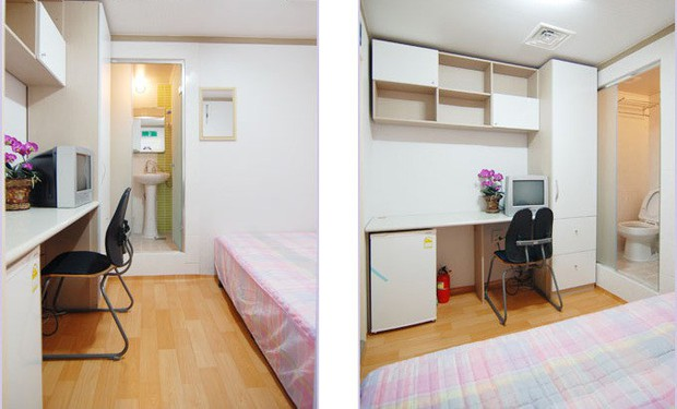 Đột nhập Goshiwon - phòng trọ hộp diêm dành cho sinh viên Hàn Quốc: Chỉ rộng 3m2, toilet bên cạnh giường ngủ - Ảnh 6.