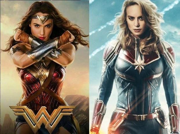 Ngạc nhiên chưa, thần tượng của Captain Marvel lại chính là Wonder Woman - Ảnh 3.