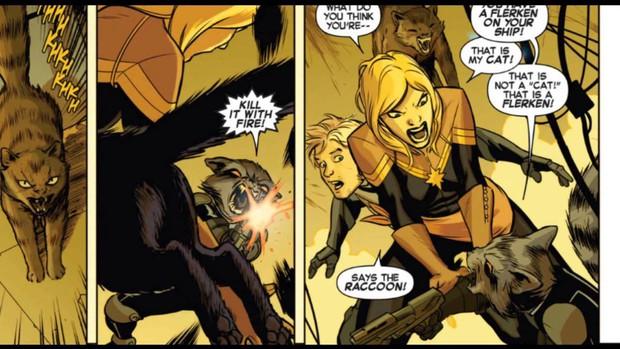 Không chỉ là hoàng thượng, chú mèo tên Ngỗng trong Captain Marvel thật ra còn bá đạo thế này đây! - Ảnh 5.