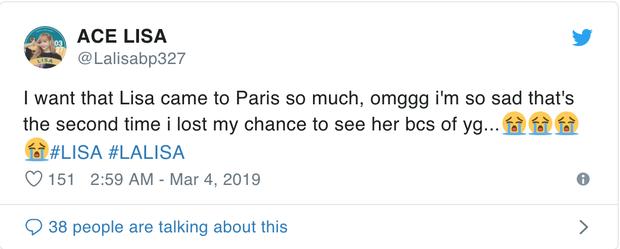 Netizen tố YG bất công vì để Jennie đi dự Paris Fashion Week còn Lisa thì không nhưng sự thật là gì?  - Ảnh 3.