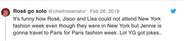 Netizen tố YG bất công vì để Jennie đi dự Paris Fashion Week còn Lisa thì không nhưng sự thật là gì?  - Ảnh 2.
