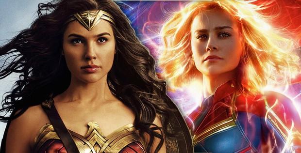 Ngạc nhiên chưa, thần tượng của Captain Marvel lại chính là Wonder Woman - Ảnh 2.