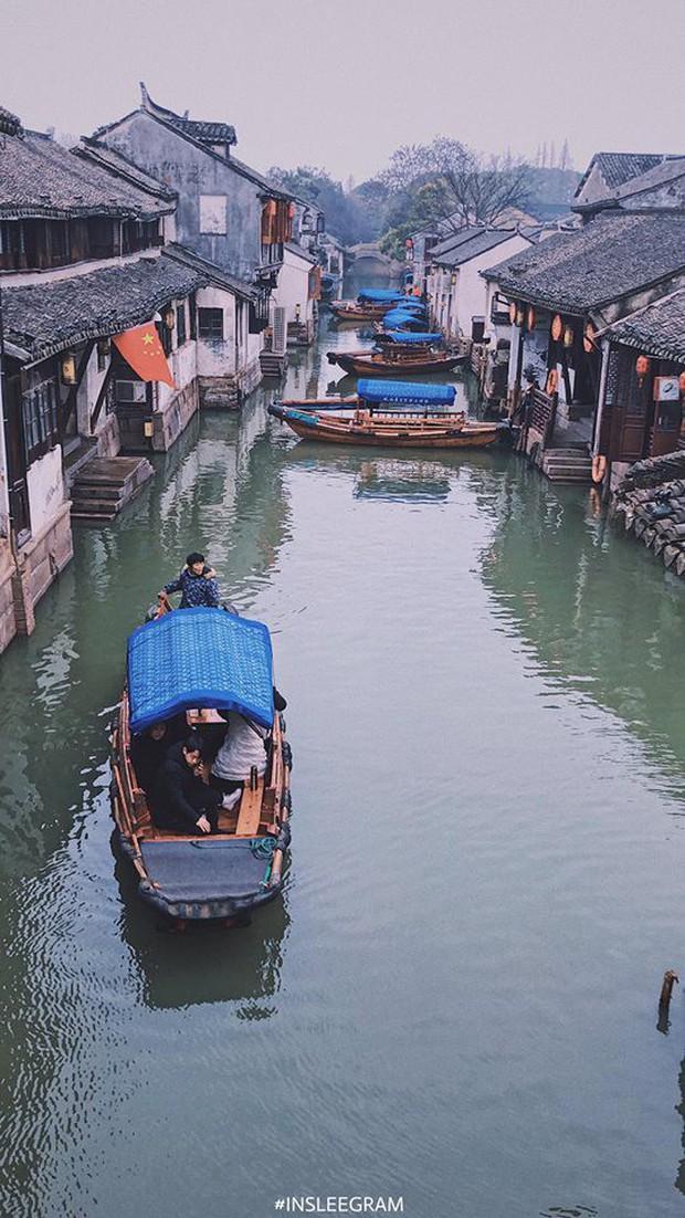 Ngẩn ngơ trước vẻ đẹp thị trấn cổ Châu Trang, nơi được mệnh danh là Venice Phương Đông - Ảnh 4.