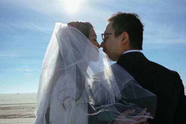 Choáng toàn tập với loạt kỳ quan nước Mỹ trong bộ ảnh cưới của cựu hoa khôi Du học sinh Việt - Ảnh 5.