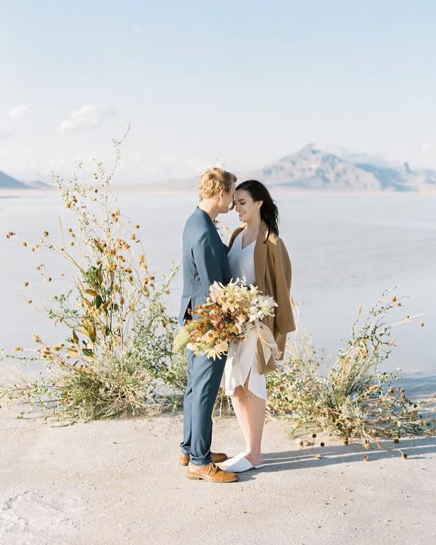 Choáng toàn tập với loạt kỳ quan nước Mỹ trong bộ ảnh cưới của cựu hoa khôi Du học sinh Việt - Ảnh 17.