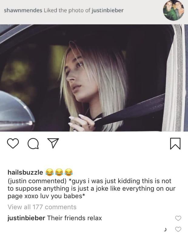 Shawn Mendes thả tim ảnh tình cũ Hailey ngay trên Instagram Justin Bieber, phản ứng của Justin mới là bất ngờ - Ảnh 2.