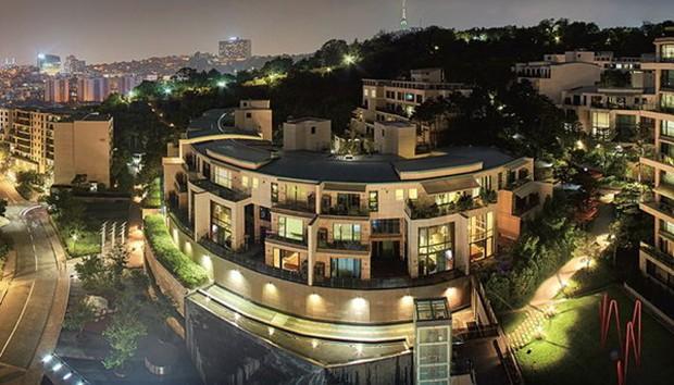 Bi Rain và Kim Tae Hee đồng loạt tậu mỗi người 1 căn hộ giá 70-90 tỉ đồng, chính thức thành hàng xóm của BTS - Ảnh 3.