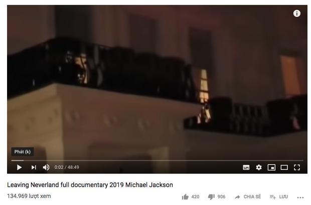 Giữa tâm bão tranh cãi về phim cáo buộc Michael Jackson ấu dâm, Youtube xuất hiện video giả mạo gây hoang mang dư luận - Ảnh 2.