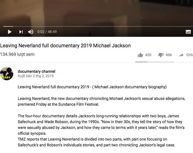 Giữa tâm bão tranh cãi về phim cáo buộc Michael Jackson ấu dâm, Youtube xuất hiện video giả mạo gây hoang mang dư luận - Ảnh 3.