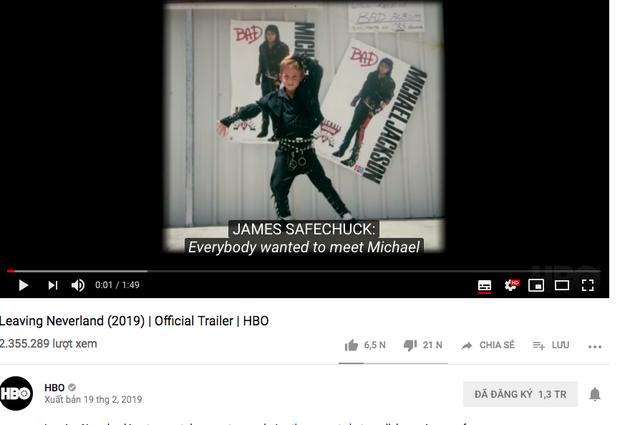 Giữa tâm bão tranh cãi về phim cáo buộc Michael Jackson ấu dâm, Youtube xuất hiện video giả mạo gây hoang mang dư luận - Ảnh 4.