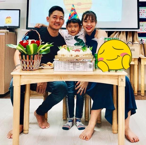 Đã ly hôn 3 năm, Thành Đạt vẫn cùng Diệp Bảo Ngọc tổ chức sinh nhật con con trai - Ảnh 1.