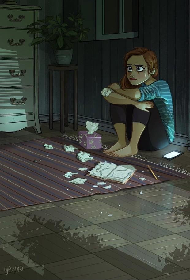 Bộ tranh: Vì sao con gái ai cũng nên có khoảng thời gian tận hưởng sự một mình? - Ảnh 3.