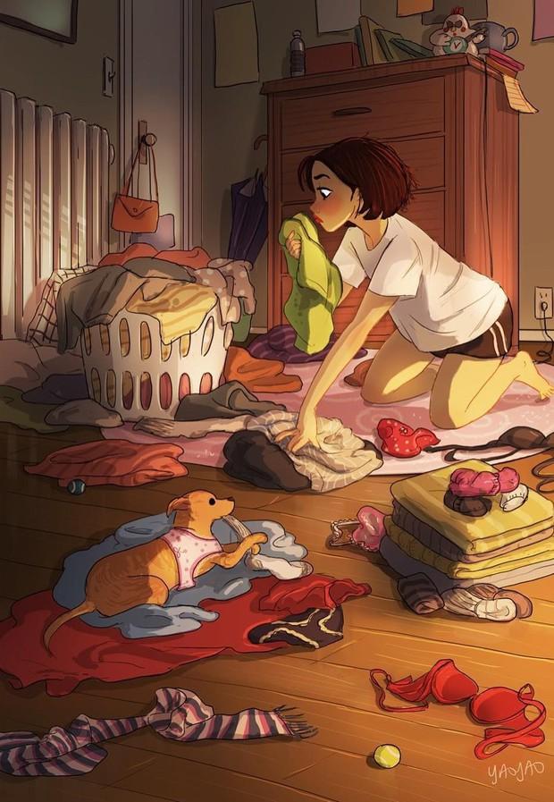 Bộ tranh: Vì sao con gái ai cũng nên có khoảng thời gian tận hưởng sự một mình? - Ảnh 5.