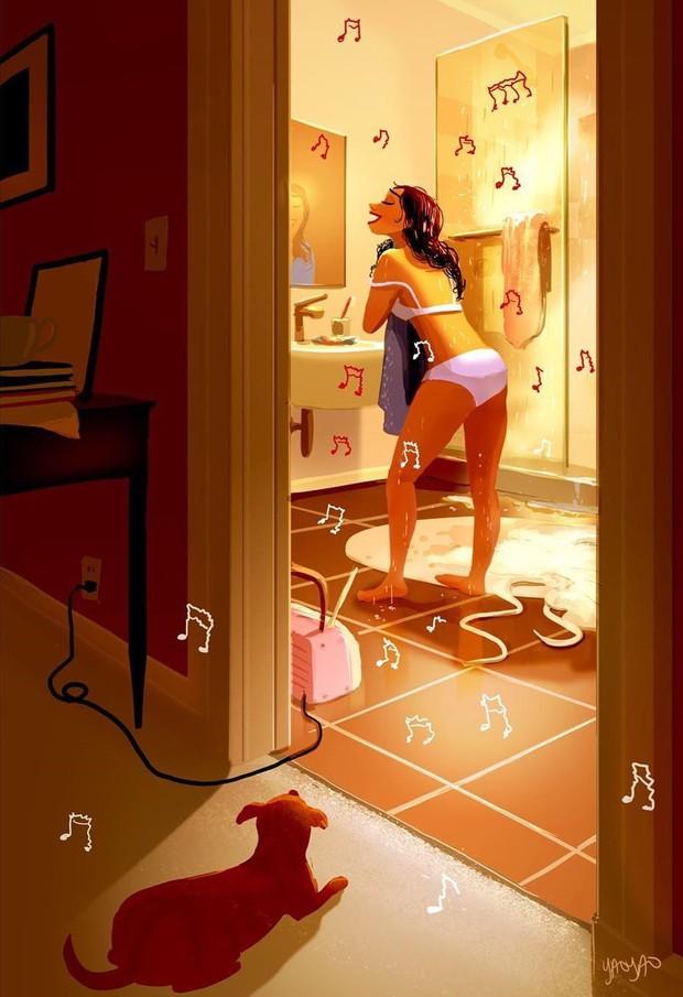 Bộ tranh: Vì sao con gái ai cũng nên có khoảng thời gian tận hưởng sự một mình? - Ảnh 9.