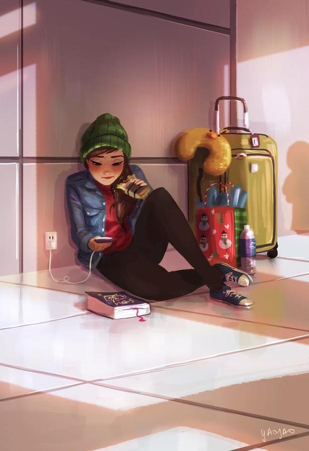 Bộ tranh: Vì sao con gái ai cũng nên có khoảng thời gian tận hưởng sự một mình? - Ảnh 15.