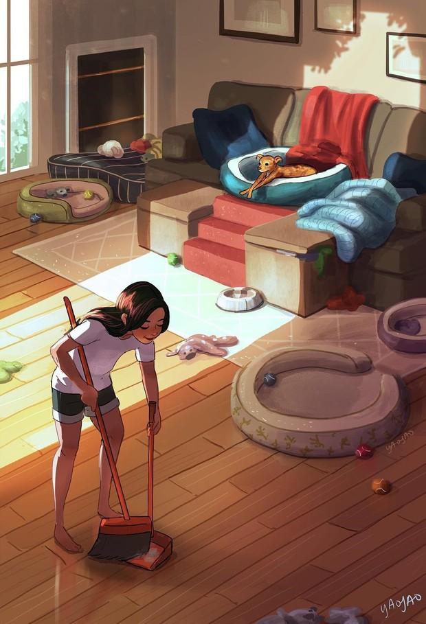 Bộ tranh: Vì sao con gái ai cũng nên có khoảng thời gian tận hưởng sự một mình? - Ảnh 21.