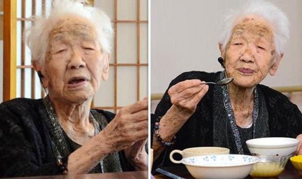 Kỷ lục Guinness xác nhận người cao tuổi nhất thế giới là cụ bà Nhật - Ảnh 1.