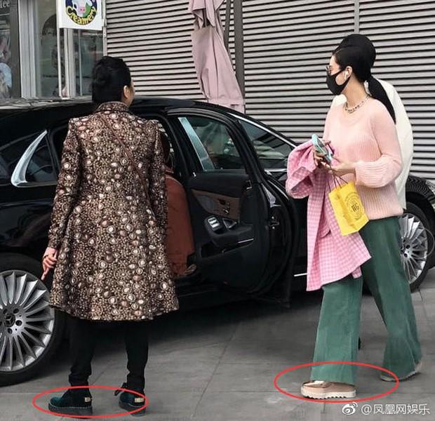 Phạm Băng Băng xuất hiện sau tin đồn bầu bì, tiếp tục làm rộ nghi vấn khi đi giày đế bằng - Ảnh 5.