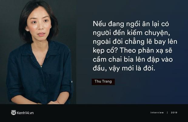 Thu Trang: Tôi chấp nhận anh Luật ăn bánh trả tiền, nhưng đừng bao nuôi hay dính đến người trong nghề! - Ảnh 7.