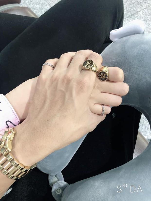 Bình An - Phương Nga lần đầu đi du lịch cùng nhau sau công khai hẹn hò, tay đeo nhẫn đôi cực tình tứ - Ảnh 3.