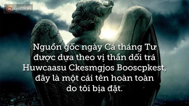 Những từ Tiếng Anh thú vị liên quan đến ngày Cá tháng tư mà có thể bạn chưa biết - Ảnh 2.