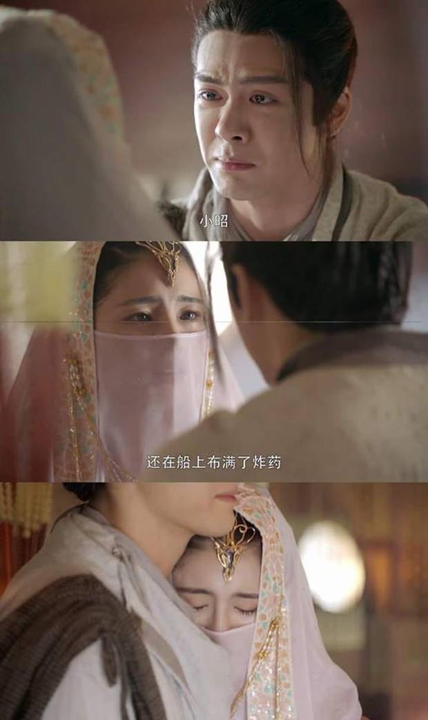 Có ai ngờ thánh nữ Tiểu Chiêu của Tân Ỷ Thiên Đồ Long Ký từng đóng toàn cảnh 18+ táo bạo thế này - Ảnh 3.