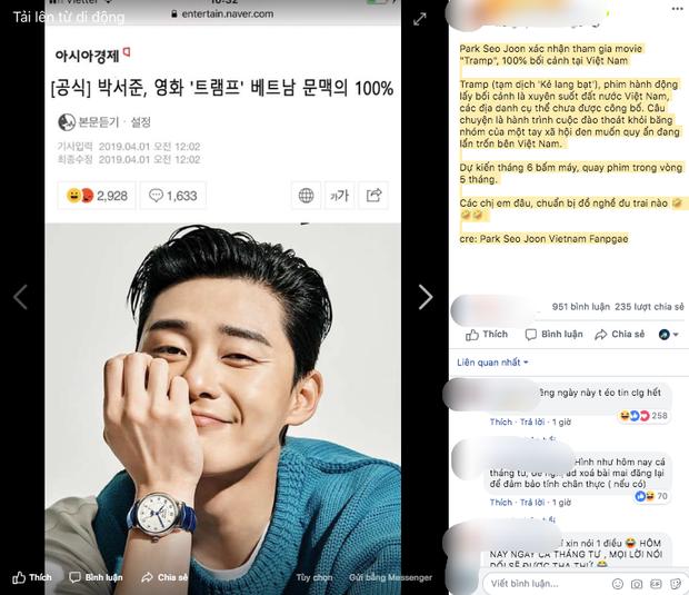 Tổng tài đẹp trai Park Seo Joon sang Việt Nam quay phim vào tháng 6 tới. Tin vịt hay tin xác thực? - Ảnh 1.