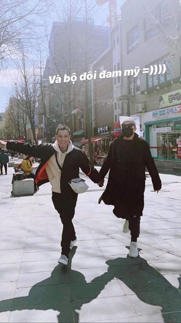 """Sau tin đồn đính hôn, Tóc Tiên và Touliver bất ngờ """"du hí"""" Hàn Quốc cùng vợ chồng hotgirl Hạt Mít - Ảnh 2."""
